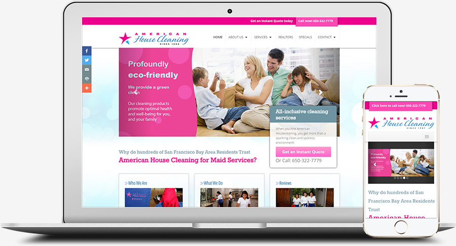 USA Event Planner Web Design Company, Easy Edit